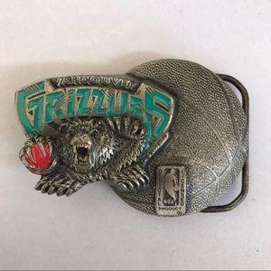 1994 Vancouver Grizzlies belt buckle